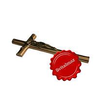 Крестик с распятием католическим, купить крест католический на памятник.