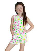 Детский летний костюм для девочек 4-7 лет