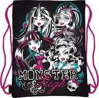 Сумка для обуви школьная Monster High