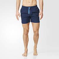 Мужские шорты для плавания adidas solid (Артикул: AY7955)