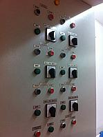 Панели управления, щиты и шкафы распределительные, устройства АВР,  другое оборудование