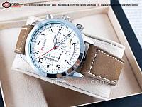 Часы мужские Сurren кожаные коричневые