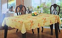 Скатерть кухонная с кувшинами и фруктами винил, фото 1