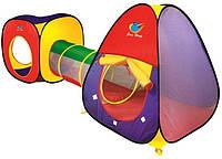 Детская палатка с тоннелем А999-53