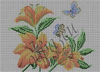 Лилии (полная зашивка)