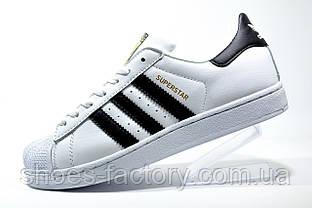 Кроссовки женские в стиле Adidas Superstar Original, White