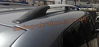 Рейлинги на крышу алюминиевые концевики ALM на Volkswagen Touareg 2003-2010