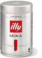 Кофе ILLY MOKA (100% арабика молотый кофе)