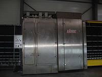 Стеклопакетная линия Lisec 2000х3500 с газовым прессом.