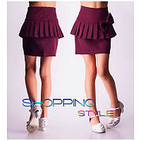 Юбки модные  школьные для девочек