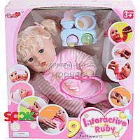 Детская интерактивная кукла Bambi 3308 функциональная