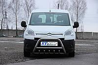 Защита переднего бампера (кенгурятник)  Citroen Berlingo 2008+
