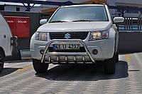 Защита переднего бампера (кенгурятник)  Suzuki Grand Vitara 2005+