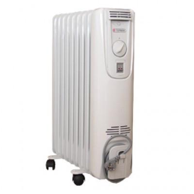 Масляний радіатор (обігрівач) Термія Н1225 Економ 2,5 кВт