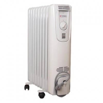 Масляный радиатор (обогреватель) Термия Н1020 Эконом 2 кВт, фото 2