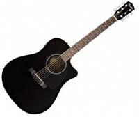 Гитары Fender CD-60CE Black