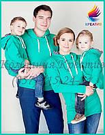 Одинаковая одежда для всей семьи под заказ (от 30-50 шт)