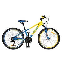 """Подростковый спортивный велосипед  PROFI Ukrain Style 24"""" (G24A315-M-UKR-1)"""