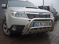 Защита переднего бампера (кенгурятник)  Subaru Forester (2007-12)