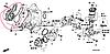 Водяной насос на Toyota Prado.Код:19200RFE003