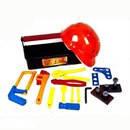 Набор инструментов Юный Слесарь с каской в чемодане 23дет.(6)