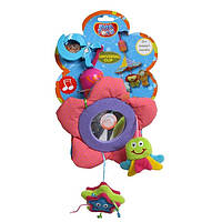 Игрушка-подвеска с колокольчиком и зеркалом biba toys ДЖУНГЛИ