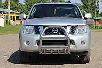 Защита переднего бампера (кенгурятник)  Nissan Pathfinder 2005+