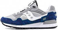 Мужские кроссовки Saucony Shadow 5000 OG 'Premium Pack' Gray/Blue,саукони шадов