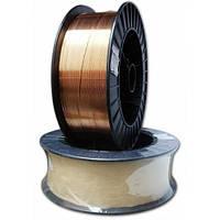 Проволока сварочная ER70S-6, ф1,0мм на 15кг. кассетах