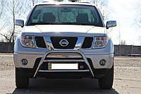 Защита переднего бампера (кенгурятник)  Nissan Navara 2005+