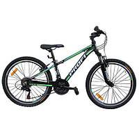Подростковый спортивный велосипед  PROFI   (G24A315-L-1B) с алюминиевой рамой