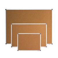 Доска пробковая BUROMAX 45 x 60 см алюминиевая рамка (BM.0016)