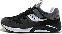 "Мужские кроссовки Saucony Grid 9000 Premium Pack ""Black/Grey"", саукони грид"