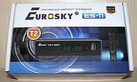 Eurosky ES-11 цифровой эфирный DVB-T2 ресивер (тюнер Т2)