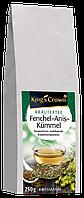 King's Crown Kräutertee Fenchel-Anis-Kümmel - Чай из лекарственных трав тмин, аниса, фенхеля, 250 г