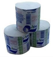 Туалетная бумага в стандартных рулонах без гильзы ЕКО+ 60м.