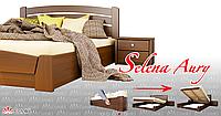 Кровать селена аури тм эстелла для спальни (Щит/Масив) производство Украина