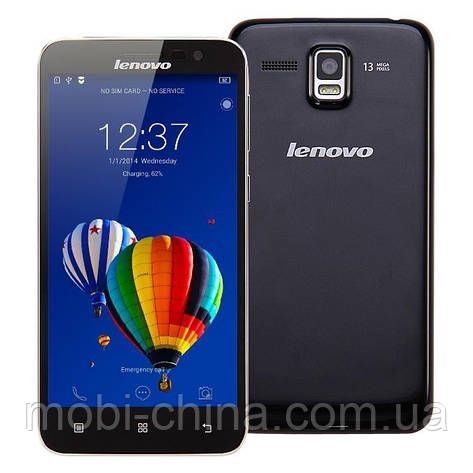Смартфон Lenovo A8  A806 Octa core 16GB Black, фото 2