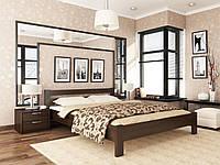 """Кровати из массива бука для спальни """"РЕНАТА"""" (щит) производство Украина 140х200"""