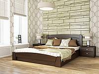 Кровать селена аури тм эстелла для спальни (Щит/Масив) производство Украина 160х200