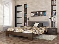 Кровать титан из массива бука (щит) высокого качества производство Украина 180х200