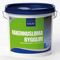 Строительно-монтажный клей Kiilto RAKENNUSLIIMA 10л.