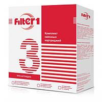 Комплект 3х картриджей FILTER 1 (хлор) CHV3F1 (8)