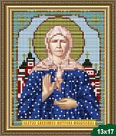 Набор для вышивки бисером икона Святая Блаженная Матрона Московская