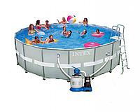 Бассейн каркасный INTEX Ultra Frame Pool полный комплект