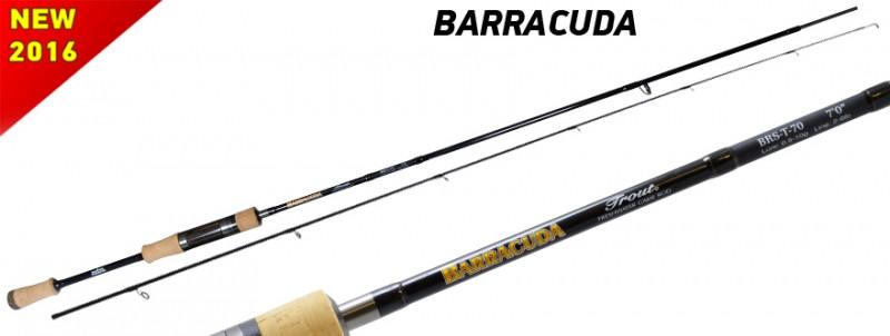 Спиннинг Barracuda 0.5-10g 2.31m