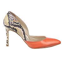 Туфли женские кожаные Аura 5853