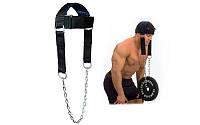 Упряжь для тренировки мышц шеи TA-92061 (PL, неопрен, металл)