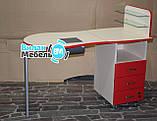 Складаний стіл для манікюру з вбудованою витяжкою, фото 3