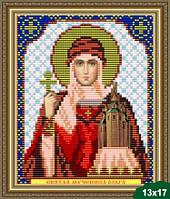 Набор для вышивки бисером икона Святая Равноапостольная Княгиня Ольга VIA 5017